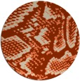 rug #589199 | round animal rug