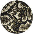 rug #589309 | round black popular rug