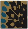 rug #591485 | square black animal rug