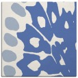 rug #591505 | square blue abstract rug