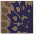 rug #591573 | square blue-violet animal rug