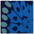 rug #591633 | square blue abstract rug