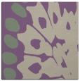 rug #591645 | square purple animal rug