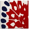 rug #591705 | square red abstract rug