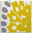 rug #591765 | square yellow animal rug