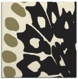 rug #591773 | square black animal rug