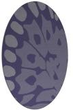 rug #591907 | oval abstract rug