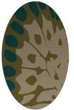 rug #591938 | oval animal rug