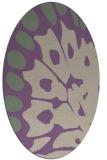 rug #591997 | oval beige popular rug