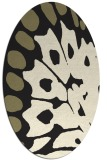 rug #592126 | oval abstract rug