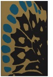 rug #592189 |  black animal rug