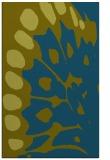 rug #592229 |  blue-green abstract rug