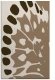 rug #592321    mid-brown animal rug