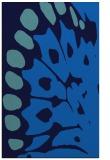 rug #592337 |  blue abstract rug