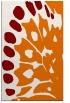 rug #592361 |  orange animal rug