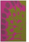 rug #592497 |  light-green abstract rug