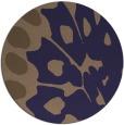 rug #592629 | round beige popular rug
