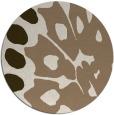 rug #592673   round beige abstract rug