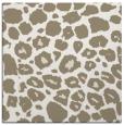 rug #594985 | square beige animal rug