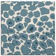 rug #595009 | square white animal rug