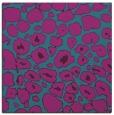 rug #595049 | square pink circles rug