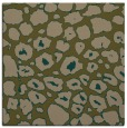 rug #595105 | square brown circles rug