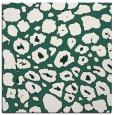 rug #595117   square green animal rug