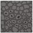 rug #595133 | square brown circles rug