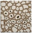 rug #595137 | square mid-brown animal rug