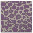 rug #595165 | square purple circles rug