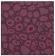 rug #595209 | square purple animal rug