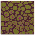 rug #595213 | square purple circles rug