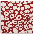 rug #595233   square red circles rug