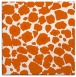rug #595253   square red-orange circles rug