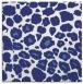 rug #595265 | square blue circles rug