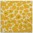 rug #595273 | square yellow animal rug