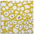 rug #595285 | square yellow circles rug
