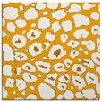 rug #595321 | square light-orange circles rug