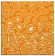 rug #595329 | square light-orange circles rug