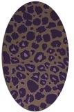rug #595570 | oval circles rug
