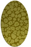 rug #595657 | oval light-green circles rug