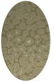 rug #595661   oval light-green animal rug