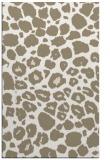 rug #595689    beige circles rug