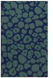 rug #595721 |  blue circles rug