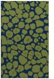 rug #595725 |  blue circles rug