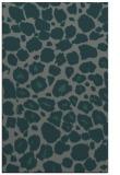 rug #595817 |  blue-green animal rug