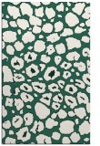 rug #595821    green circles rug