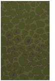 rug #595825 |  green circles rug