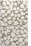 rug #595829 |  mid-brown circles rug