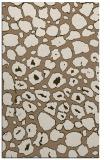 rug #595841 |  beige circles rug
